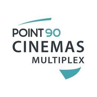 Logos of Point90 Cinemas multiplex in Egypt